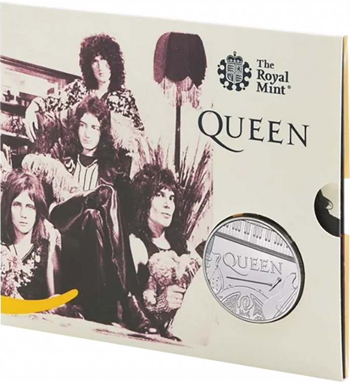 2020 Queen £5 Brilliant Uncirculated Pack